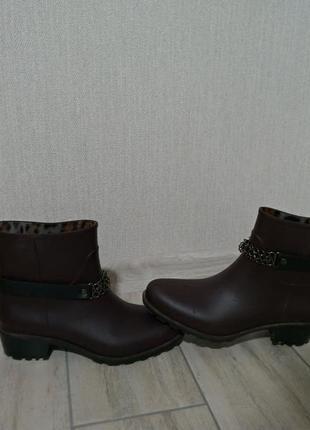 Резиновые ботинки, 37 размер