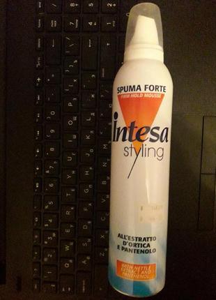 Мусс, пенка для волос intesa styling 300 мл / стайлинг