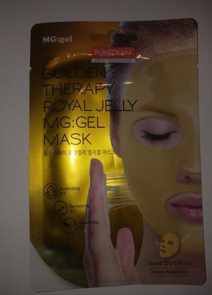 Гидрогелевая маска для лица purederm