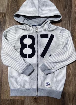 Тёплая кофта зимняя демисезонная свитер джемпер бомбер на мальчика