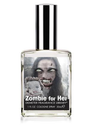 Духи готические неформальные нишевые demeter fragrance zombie for her