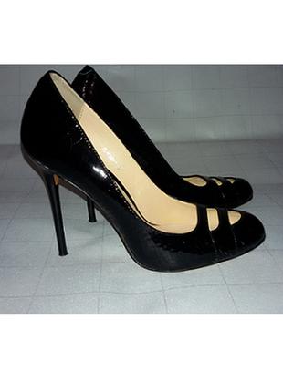Туфли, босоножки натуральная кожа (крокодил)