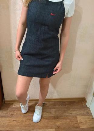 Джинсовый сарафан платье от guess по супер низкой цене!!