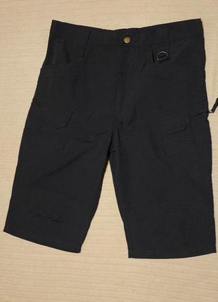 Функциональные черные тактические шорты aldljlayan fashion l.