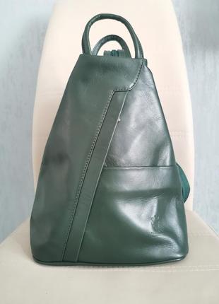 100% шкіра рюкзак шкіряний жіночий рюкзак сумка