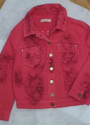 Джинсовый пиджак  a.m.n