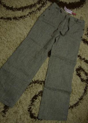 Летние ляные брюки marks & spencer