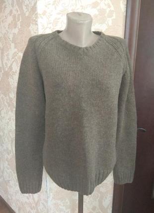 Шерстяной свитер премиум h&m