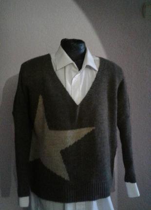 Теплый итальянский свитер