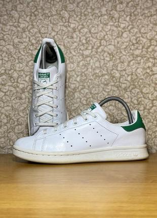 Кожаные кроссовки adidas stan smith оригинал размер 38 m20605