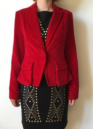Vip - роскошный красный винный бархатный пиджак - дизайнер оригинал сделано в украине люкс