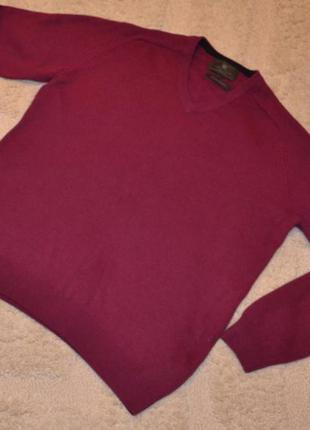 Шерстяной свитер marks & spencer на пышные формы