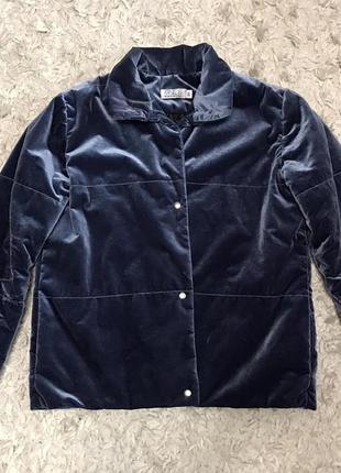 Бархатная куртка