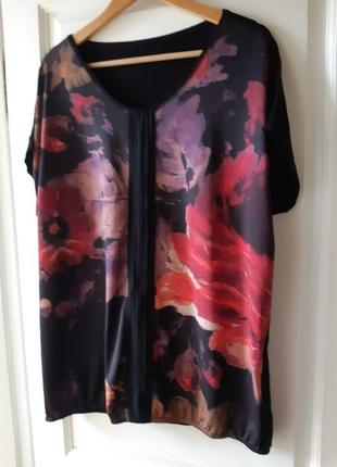 Блуза, футболка  в красках осени  р. 54-56