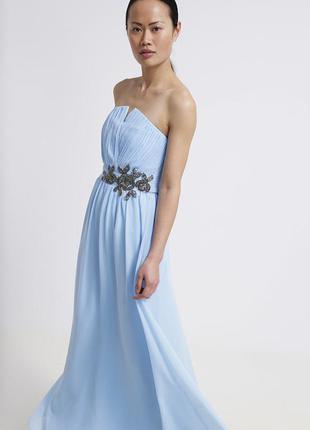 Нарядне плаття little mistress голубого кольору