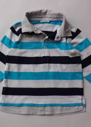 Topomini. реглан обманка с рубашкой. 92 размер.