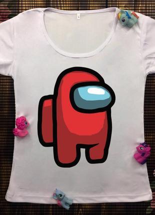 Женские футболки с принтом - амонг ас