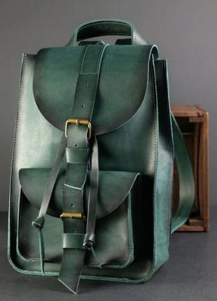 Итальянская кожа. кожаный женский рюкзак. рюкзачок