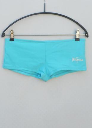 Женские плавки шортиами  раздельный купальник