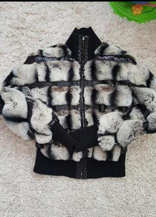 Куртка меховая кролик-рекс