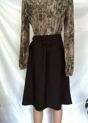 Платье с длинныым рукавом, приталенное весеннее piena