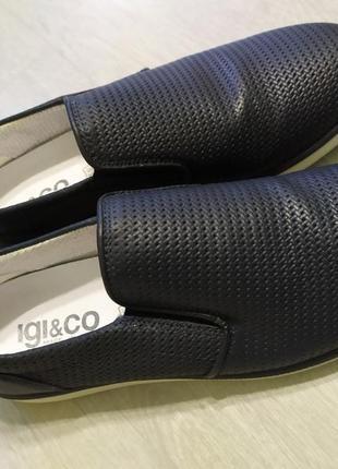 Новые мужские итальянские туфли.