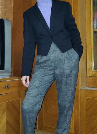 Пиджак жакет укороченный h&m