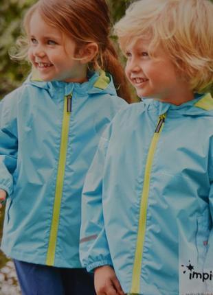 Куртка дождевик для малышей impidimpi размер 74-80 см