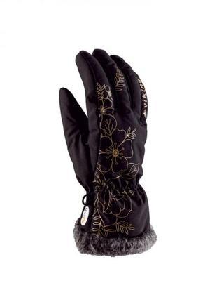 Рукавиці гірськолижні жіночі viking jaspis 6/7 чорний 09 113124840.6xs.blk