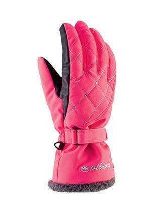 Рукавиці гірськолижні жіночі viking crystal 6 рожевий 46 113183417.6xs.pnk
