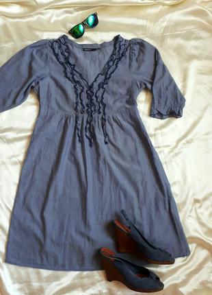 Тонкое котоновое платье