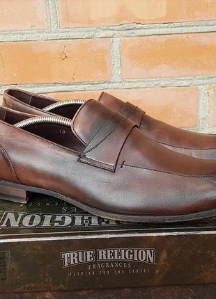 Giorgio armani туфли лоферы кожаные made in italy оригинал (45)