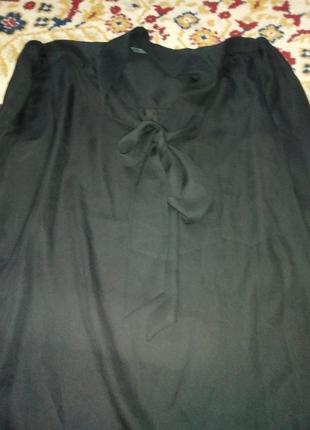 Шифоновая нарядная блуза
