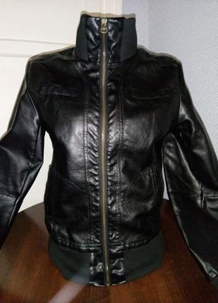 Курточка  кож зам 44р