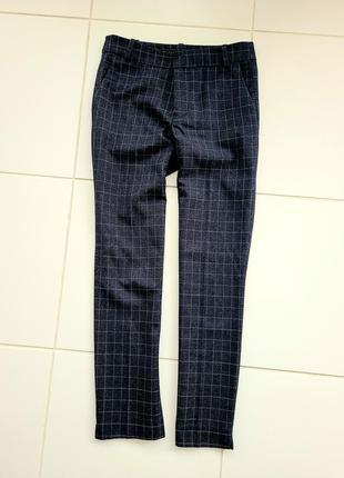 Тёплые классические брюки zara