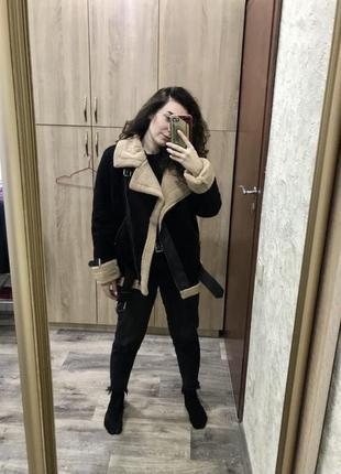 Шикарна курточка авіатор