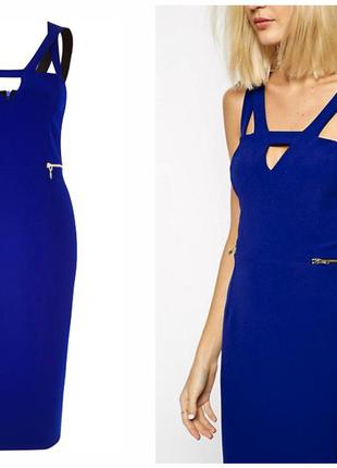 Платье синее river island