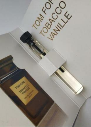 Скидка 3-дня!🔥🔥🔥очень стойкий мини парфюм tom ford tobacco vanille,унисекс,табак, ваниль.