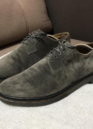 Классические замшевые туфли  geox