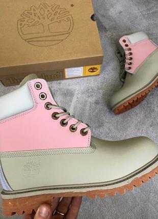 Шикарные женские 🍁осенние ботинки топ качество timberland 🎁