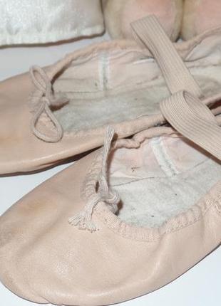 Фирменные кожаные чешки - балетки для танцев ,гимнастики и т.д