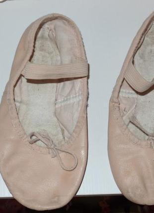 Фирменные кожаные чешки - балетки для танцев ,гимнастики и т.д2 фото
