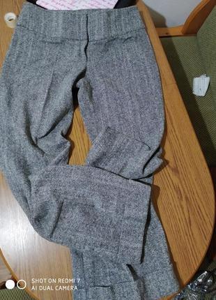 Круті шерстяні теплющі штанці,max &co