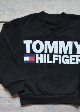 "Утепленный джемпер ""tommy hilfiger"" 86-116 рост"