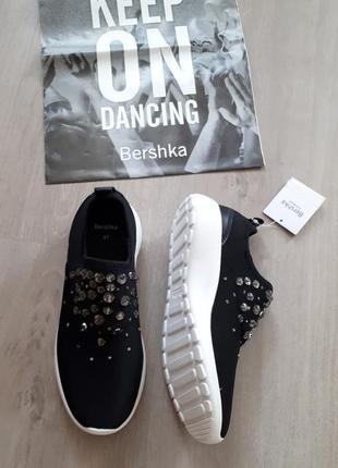 Гламурные уличные кроссовки bershka в стиле dior