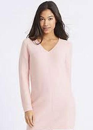Трикотажное платье, удлинённый свитер от m&s