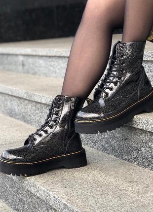 Шикарные женские ❄️зимние ботинки топ качество dr. martens 🎁