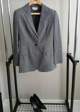 Винтажный объемный пиджак giorgio armani в стиле бойфренд m оверсайз