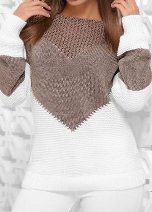Весна шикарный свитер 44-52