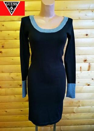 Стильное платье в лаконичном дизайне популярного американского бренда gues.